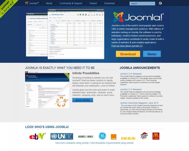 Joomla Web Hosting