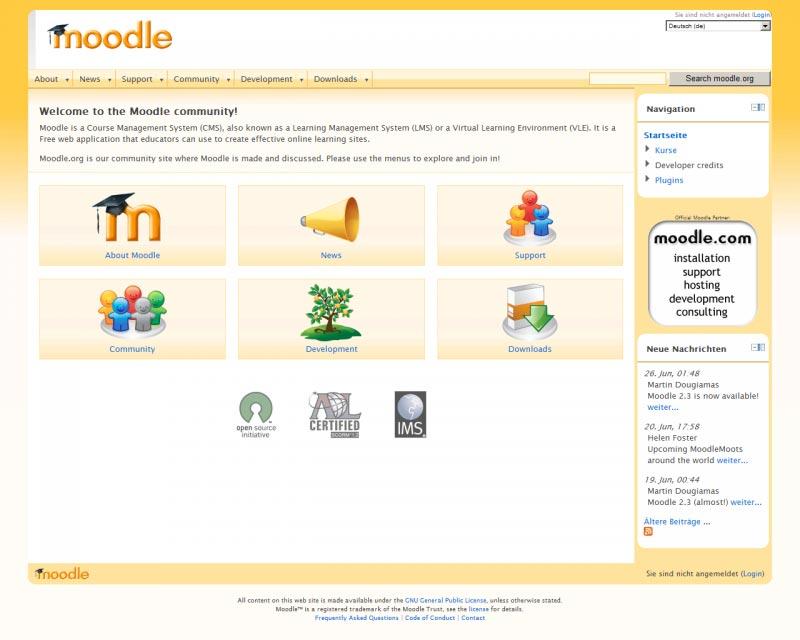 Moodle Web Hosting
